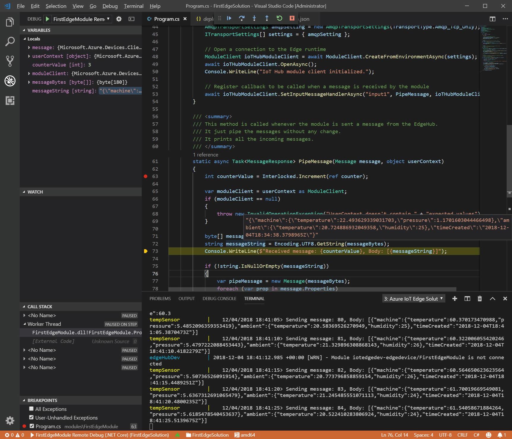 Developing and Debugging Edge Modules   SpringerLink