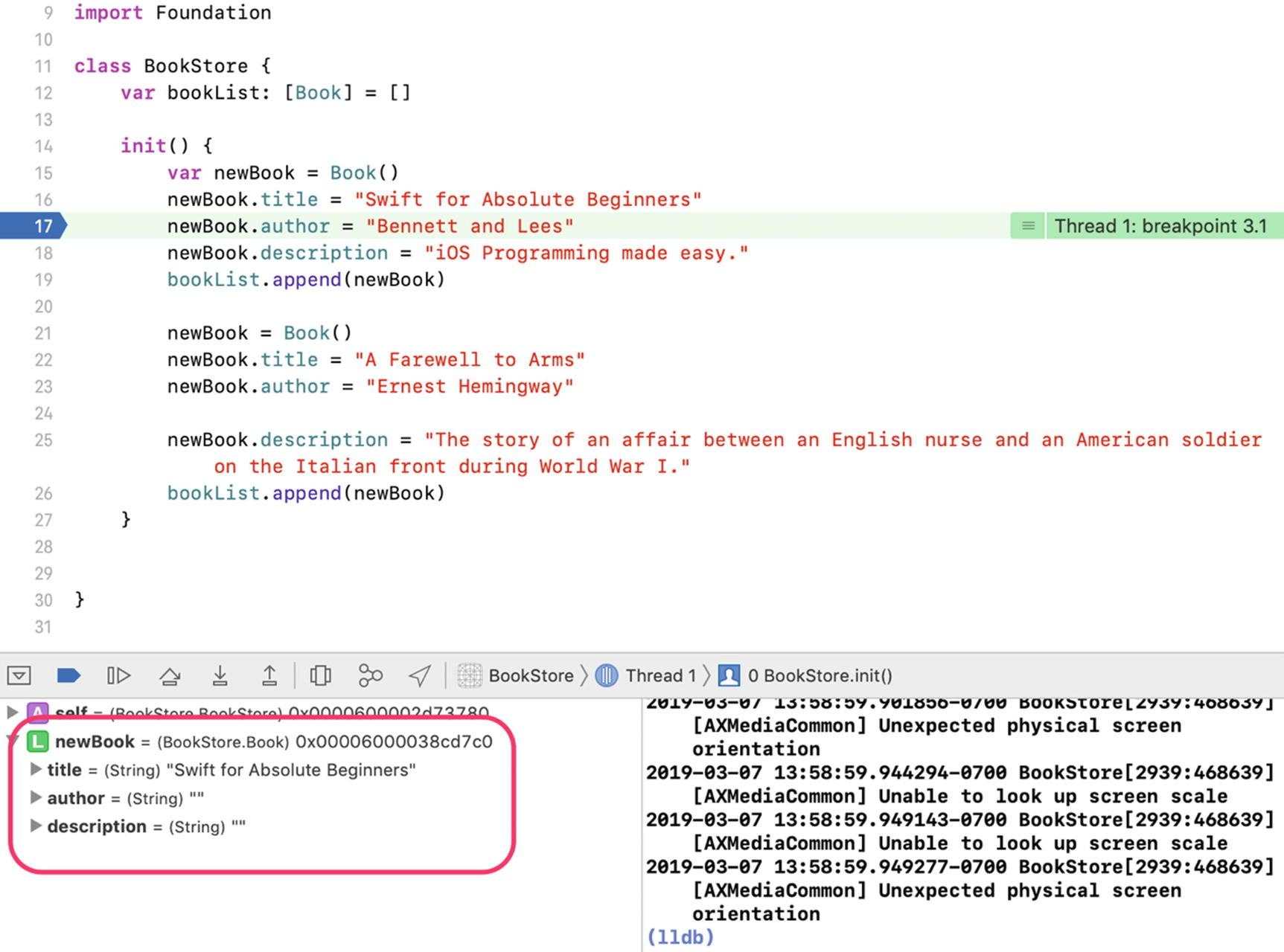Introducing the Xcode Debugger | SpringerLink
