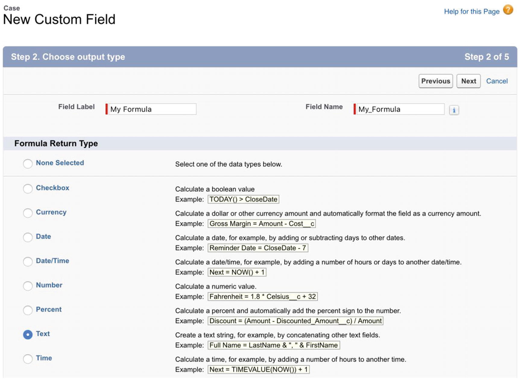 All About Formula Fields | SpringerLink