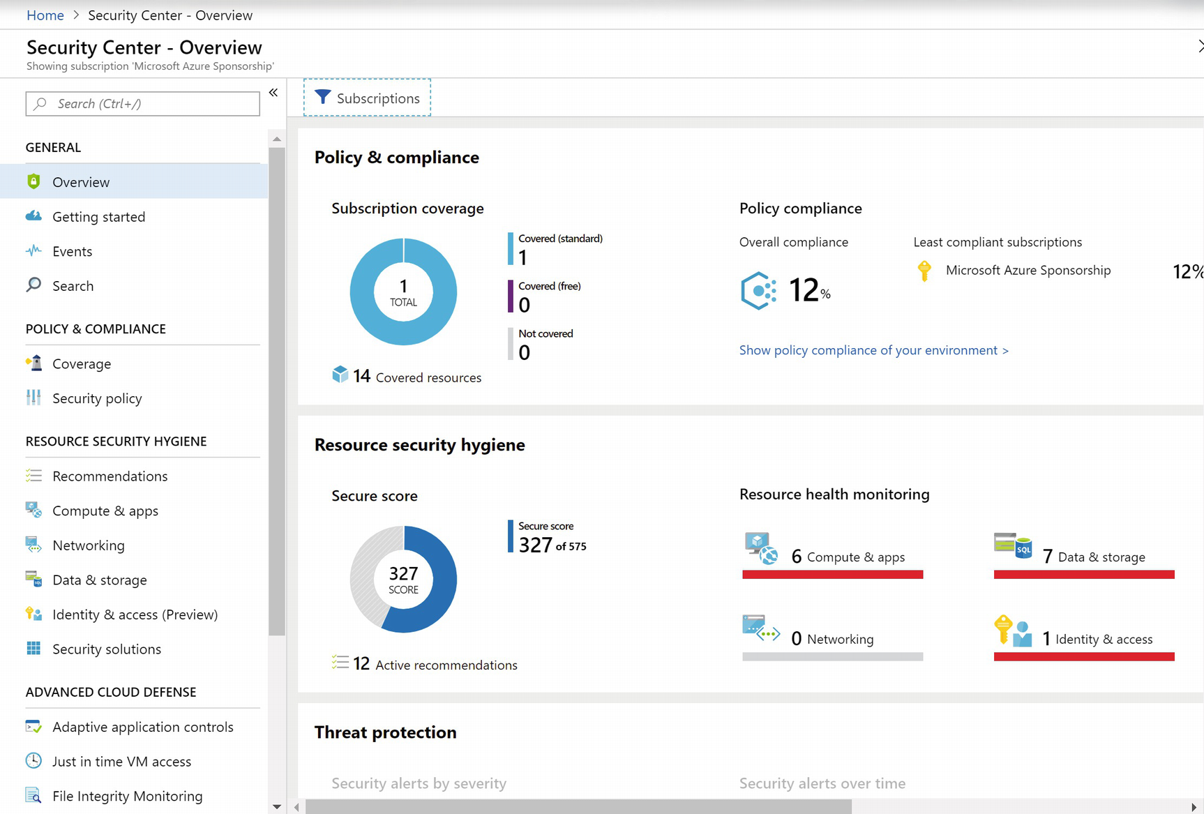 Azure Security Center | SpringerLink