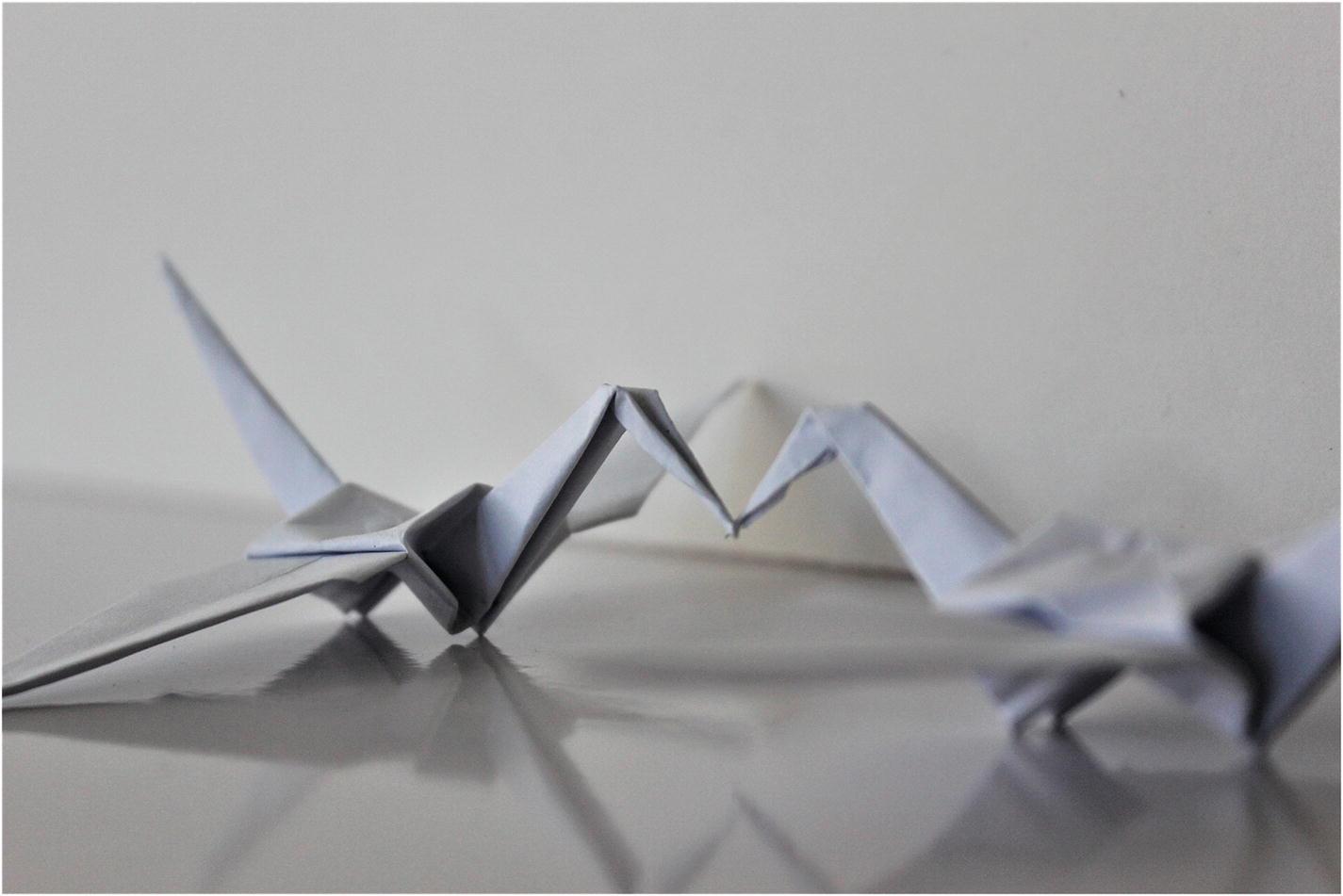 Origami Crane | Origami paper crane, Origami crane tutorial ... | 951x1425