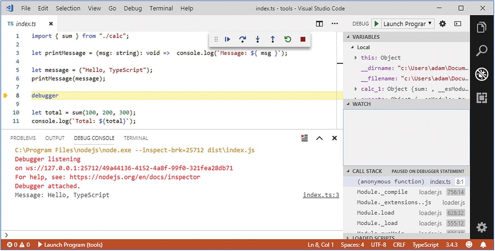 Testing and Debugging TypeScript | SpringerLink
