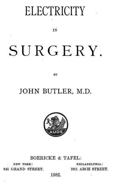 The Homeopathic Scalpel: Contributions to Surgery from the World of