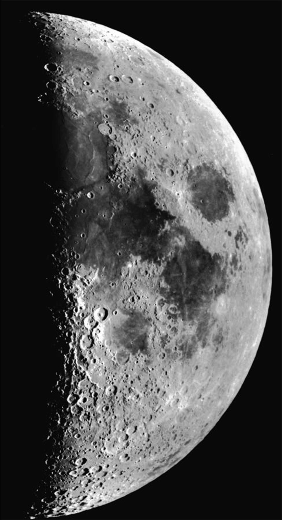 Crater Hopping Observing the Moon on Day 21 First Quarter ...