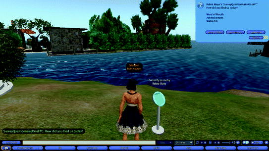 The Second Life Researcher Toolkit – An Exploration of Inworld Tools