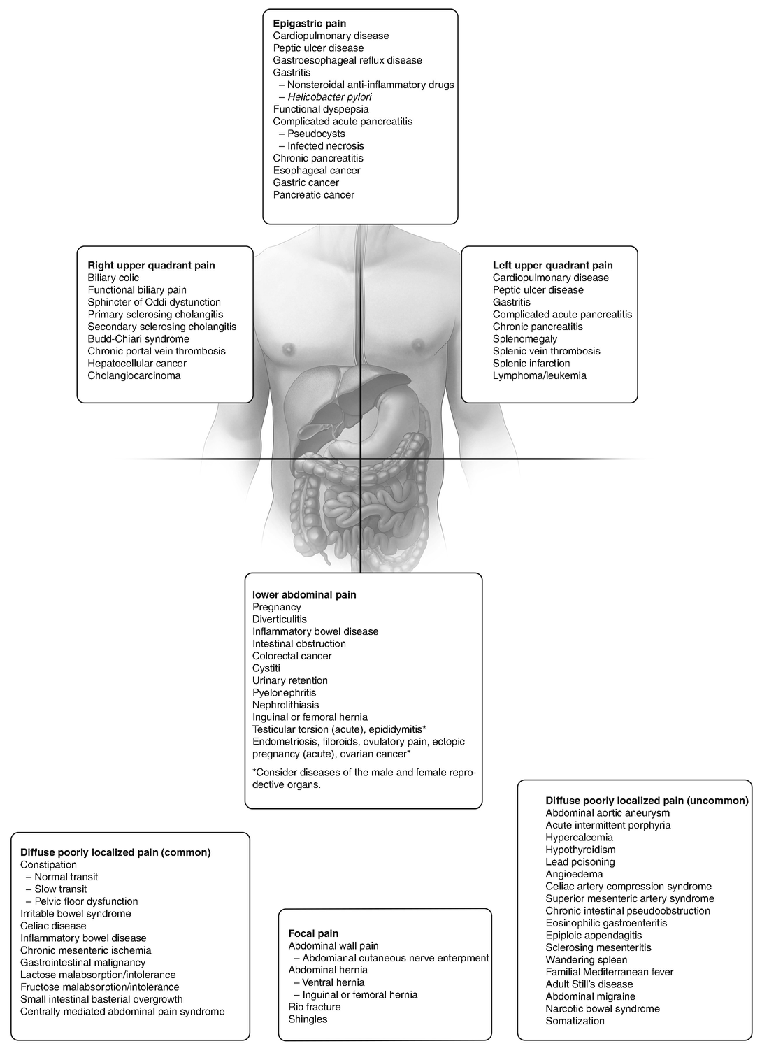 A Diagnostic Approach To Chronic Abdominal Pain Springerlink
