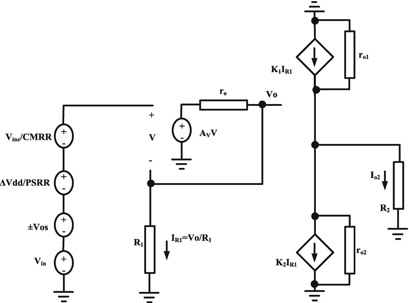 Cmia Based On Op Amp Power Supply Current Sensing Technique Bootstrapped Resistor A Source Or Open Circuit Image In New Window