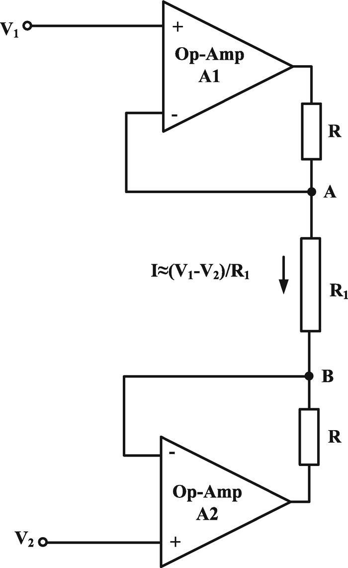 Cmia Based On Op Amp Power Supply Current Sensing Technique Circuits Lf351 Pin Diagram Open Image In New Window