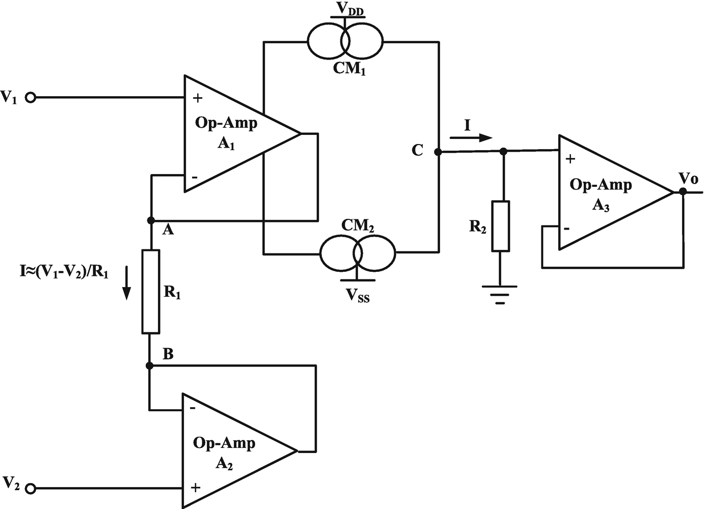 Cmia Based On Op Amp Power Supply Current Sensing Technique Difficulty Solving Problem Electrical Engineering Open Image In New Window Fig 24 First Generation
