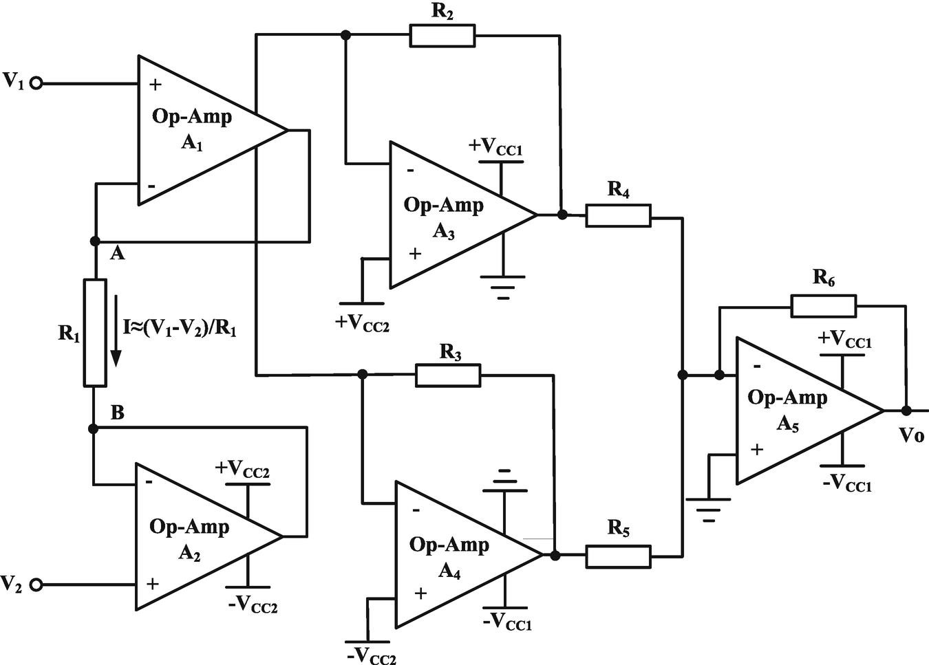 Cmia Based On Op Amp Power Supply Current Sensing Technique Difficulty Solving Problem Electrical Engineering Open Image In New Window Fig 28 First Generation Improved