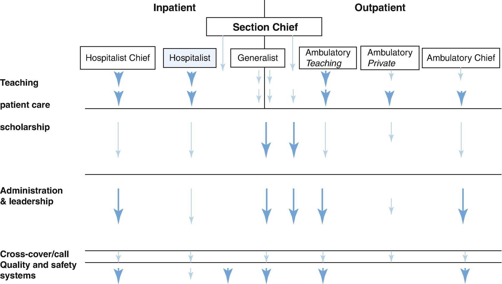 The Role of Hospitalists in a New Hospital: Physician's