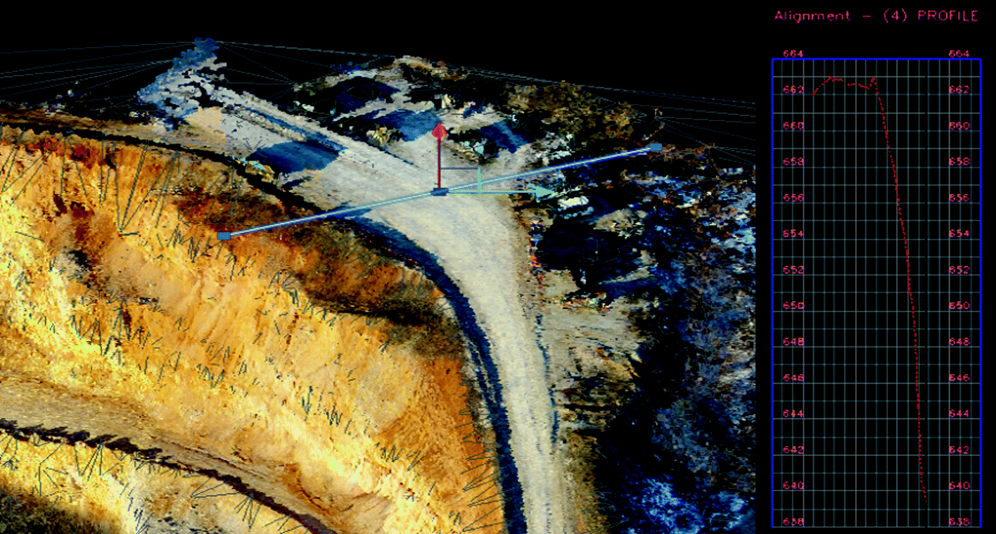 Application of the Airborne LIDAR Technology on the Quarry