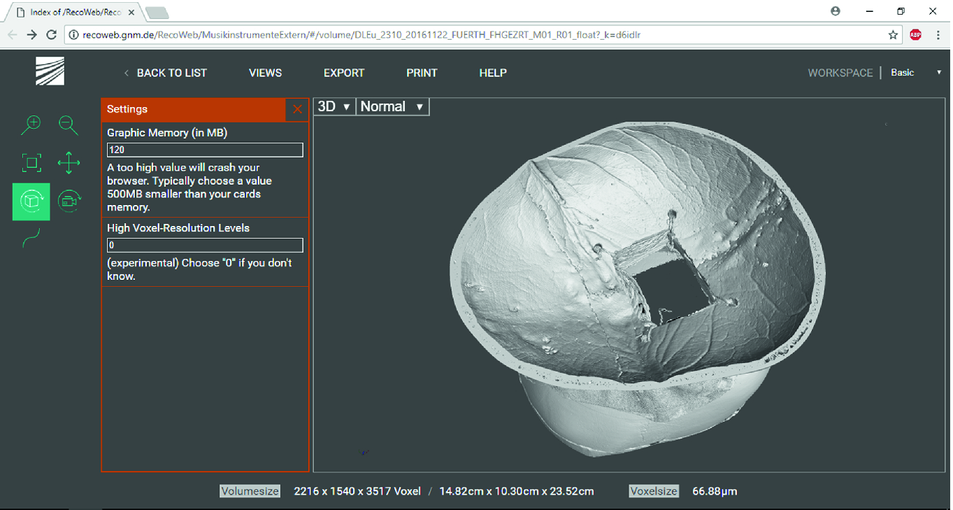 Computed Tomography as a Tool for Archiving