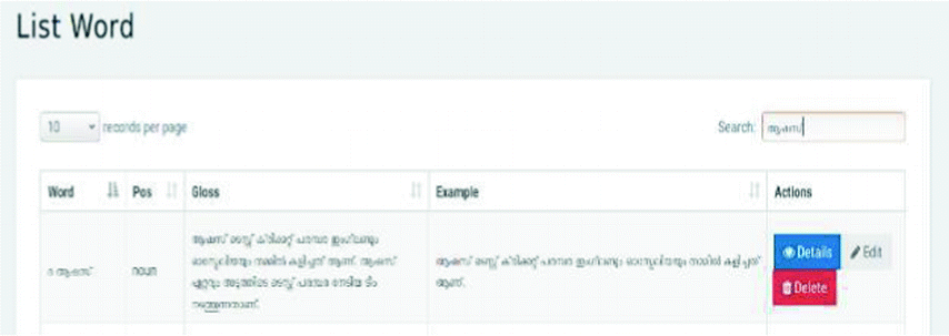 Semantic Representation of Malayalam Text Documents in Cricket