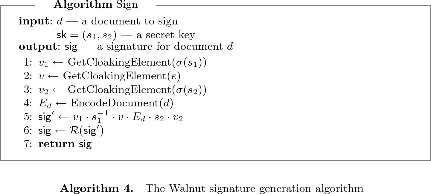 Practical Attacks Against the Walnut Digital Signature