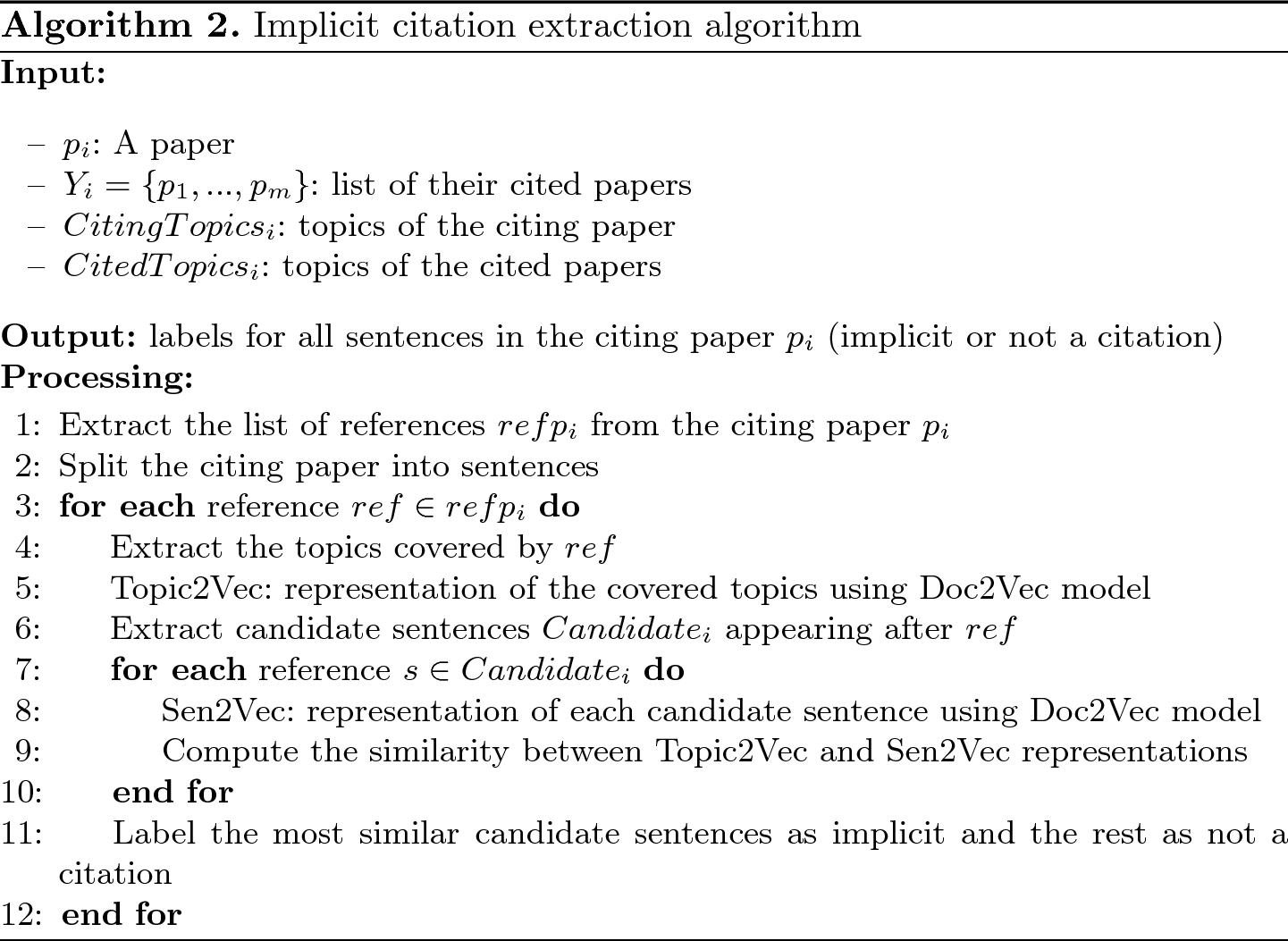 A New Approach for Implicit Citation Extraction | SpringerLink