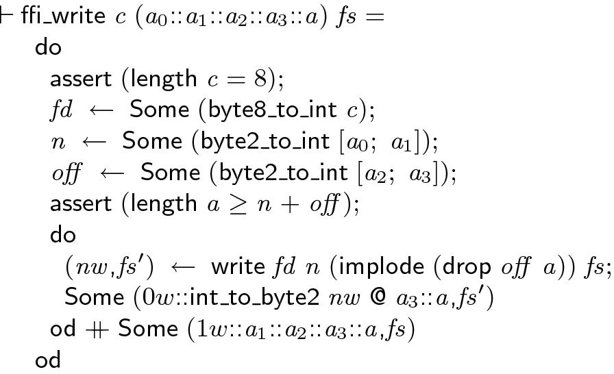 Program Verification in the Presence of I O