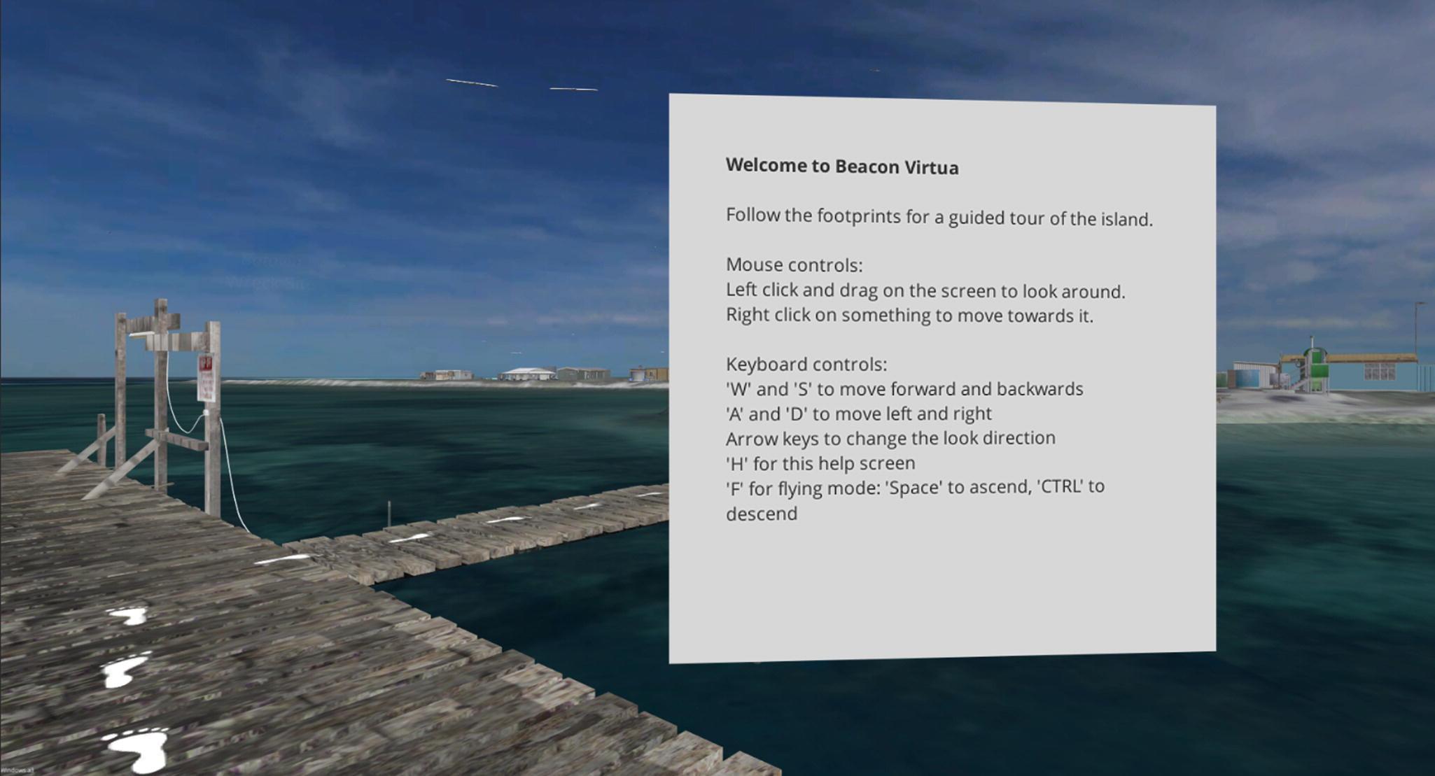 Beacon Virtua: A Virtual Reality Simulation Detailing the