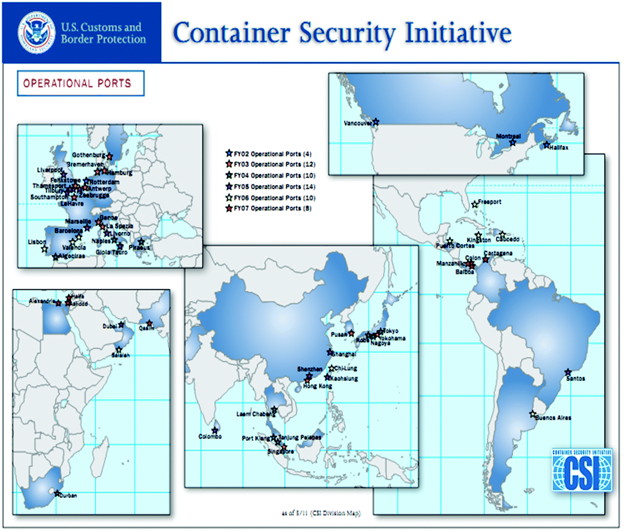 Maritime Security Measures and the Container Security Initiative