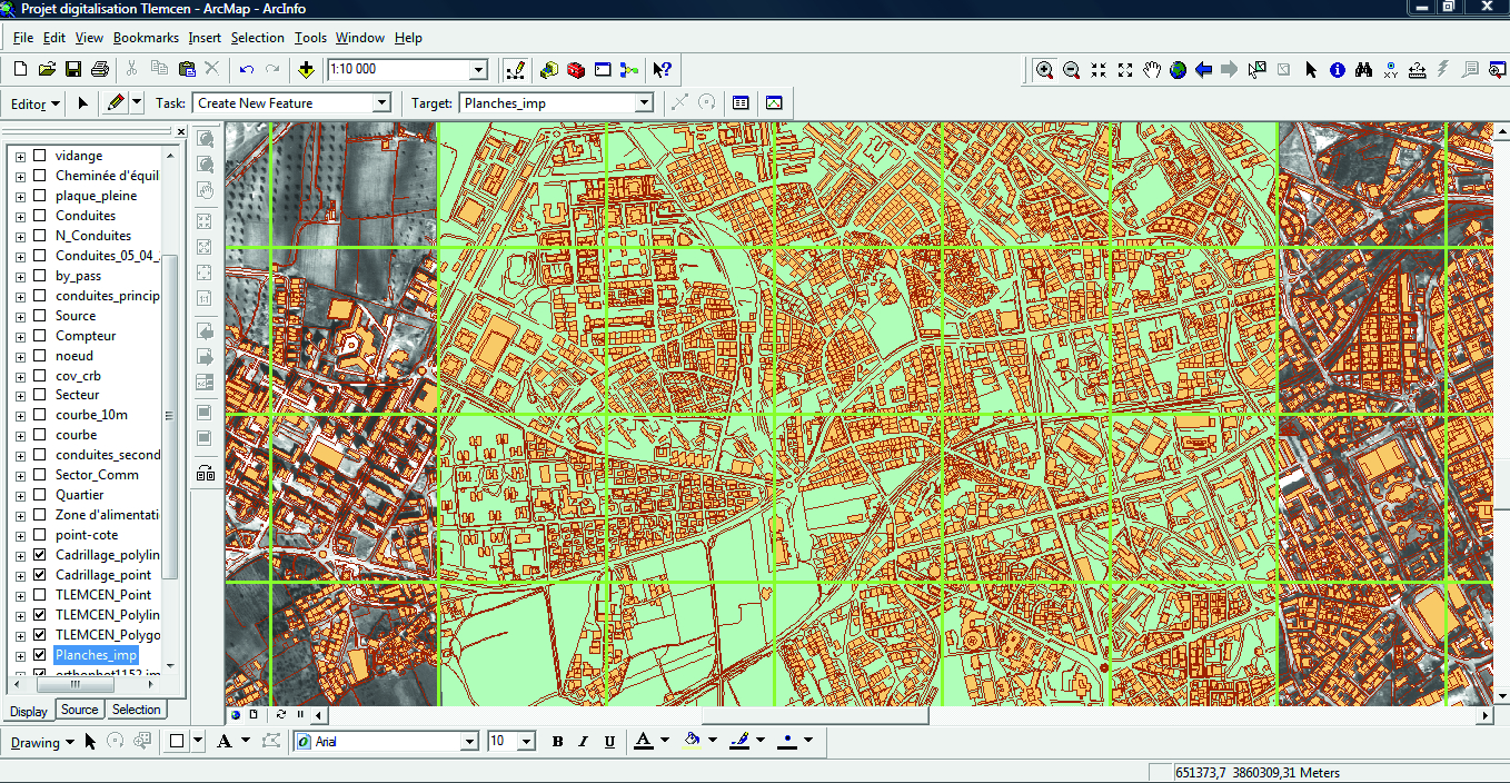 Contribution of GIS and Hydraulic Modeling to the Management