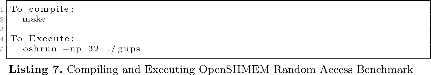 Oak Ridge OpenSHMEM Benchmark Suite | SpringerLink