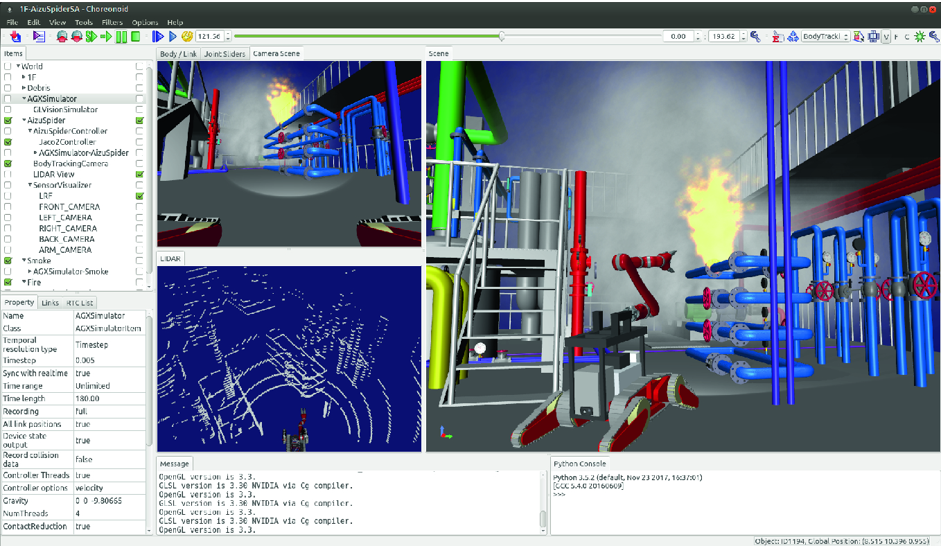 Simulator for Disaster Response Robotics | SpringerLink