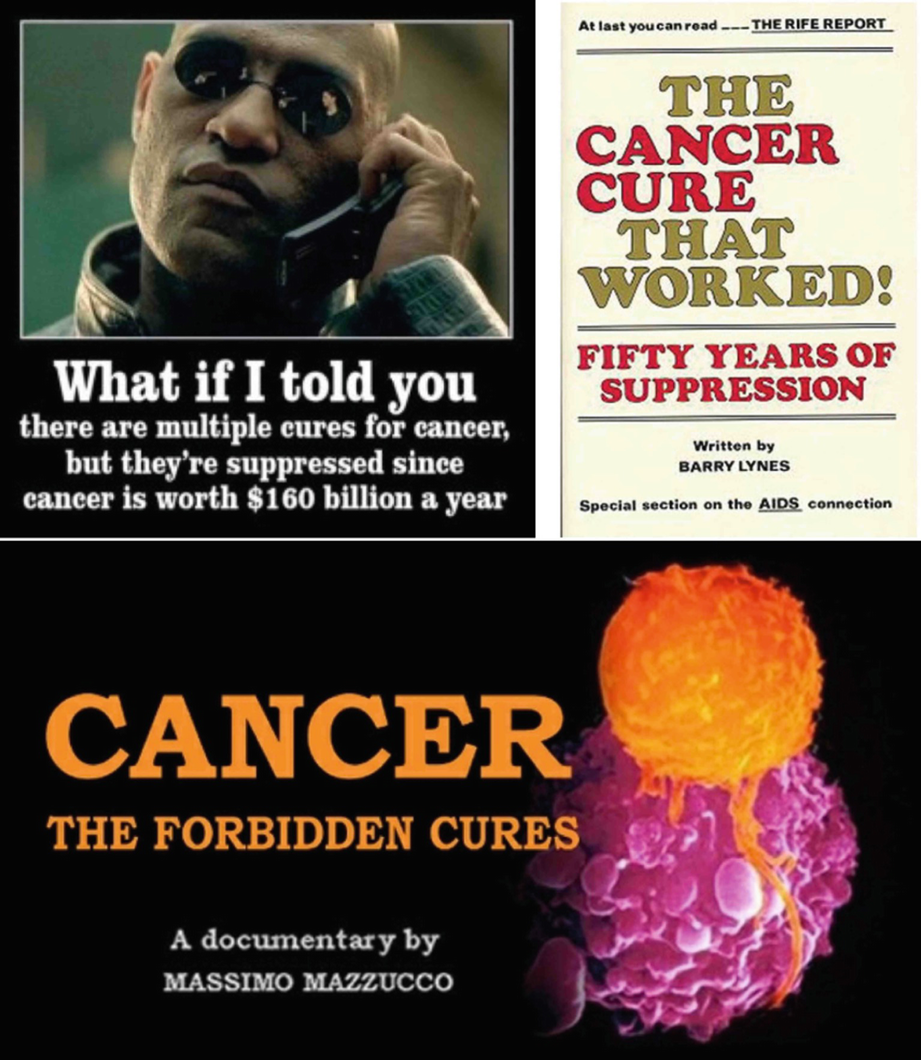 Cancer Quackery and Fake News: Targeting the Most Vulnerable