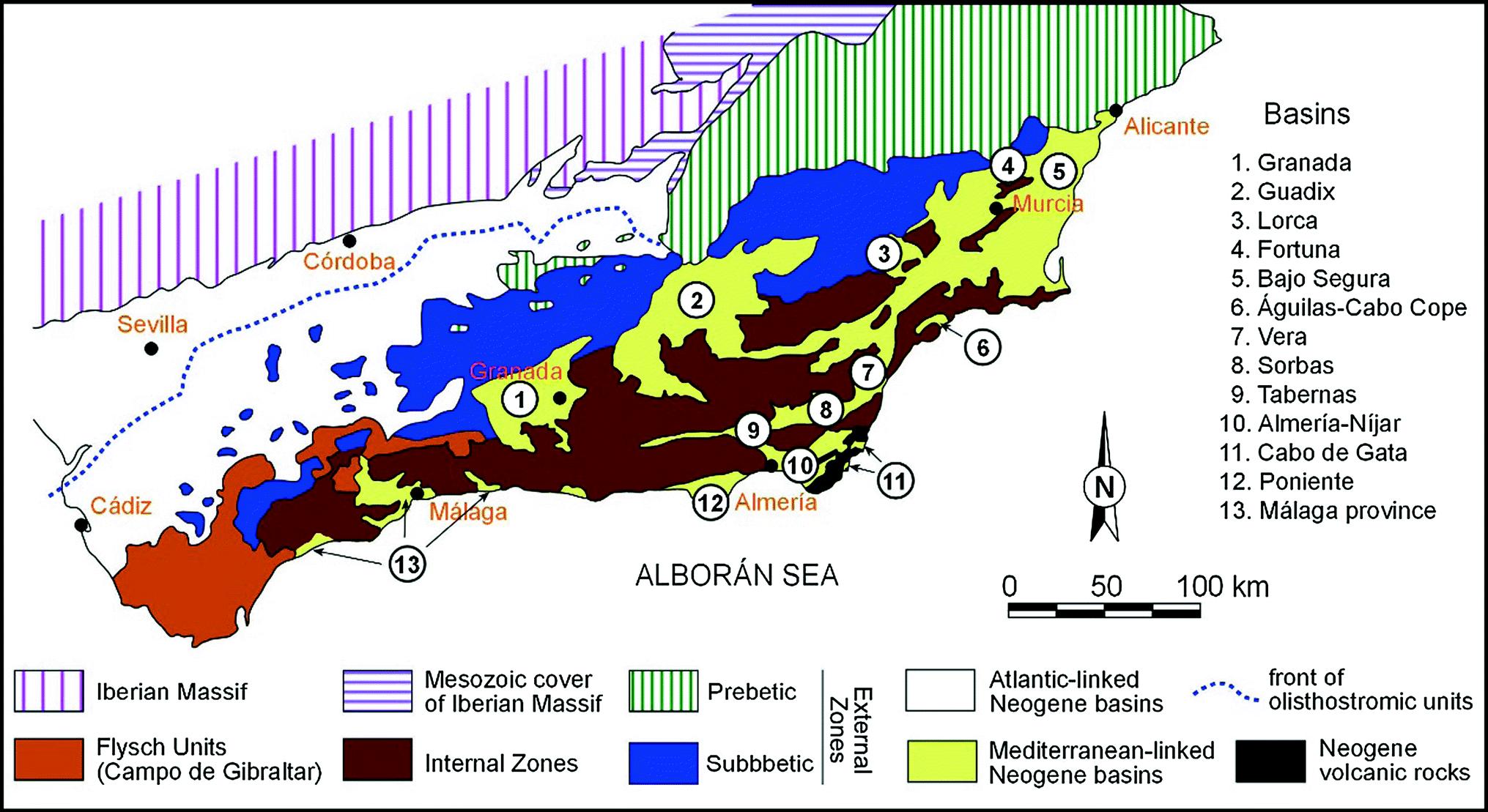 Extension In The Western Mediterranean Springerlink