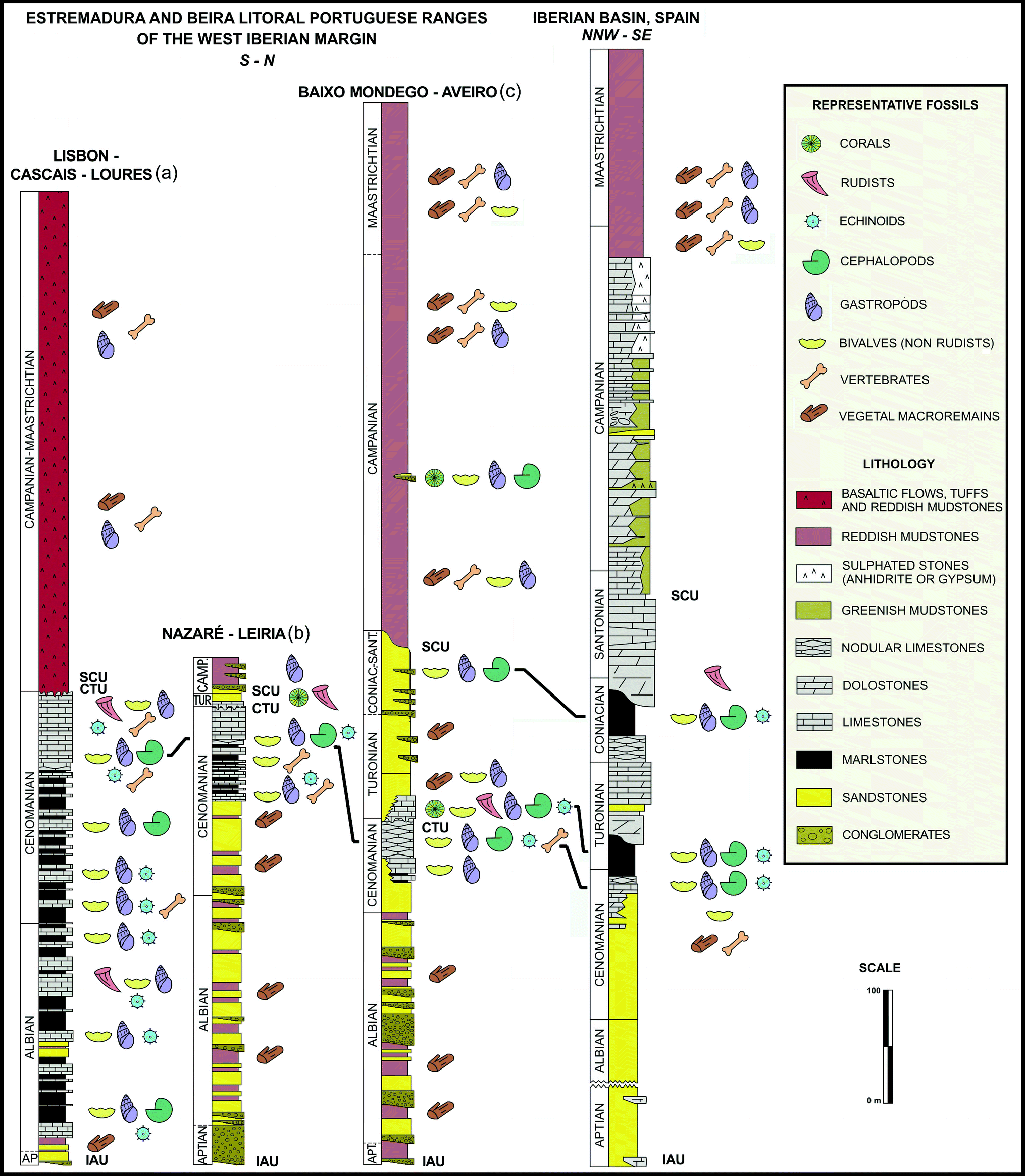 Late Cretaceous Post-Rift to Convergence in Iberia