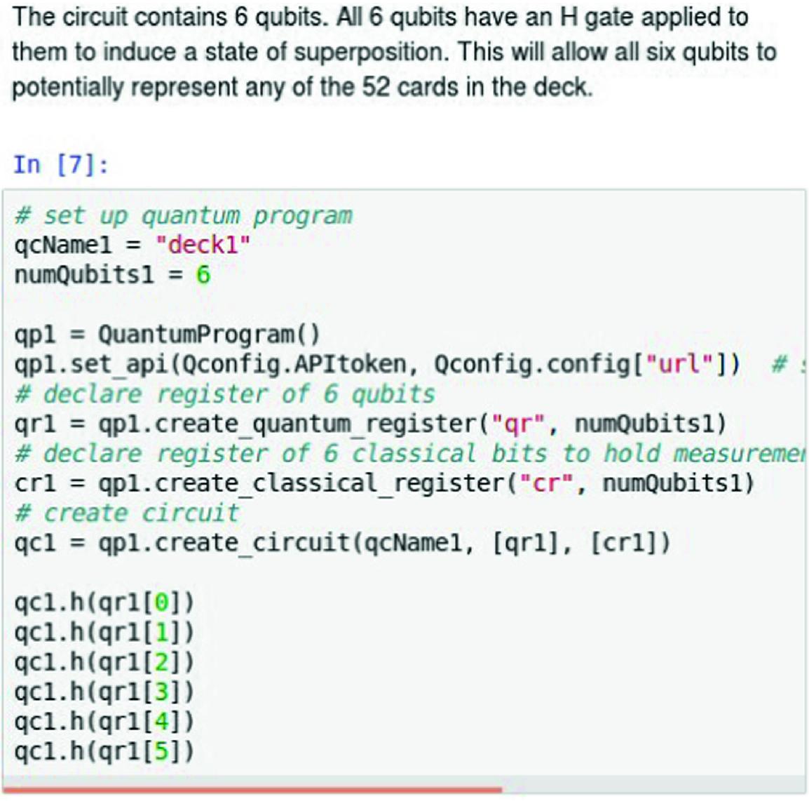 Student User Experience with the IBM QISKit Quantum Computing