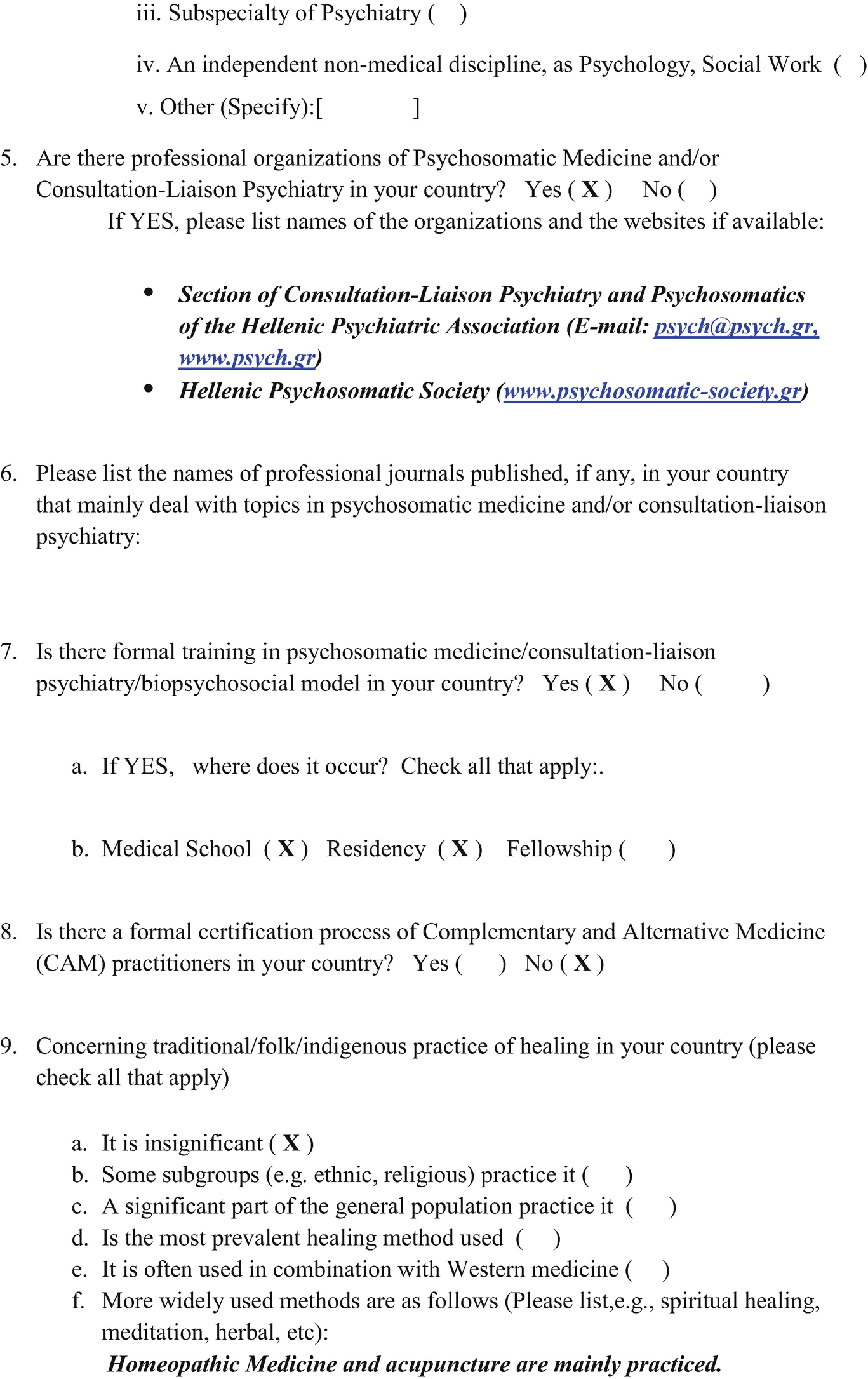 Psychosomatic Medicine in Modern Greece | SpringerLink