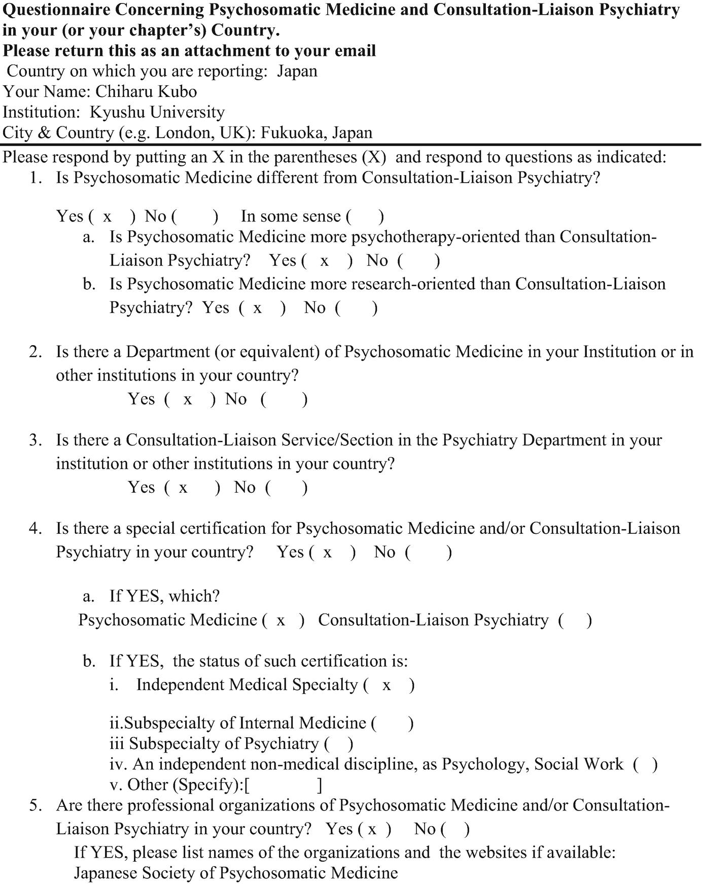 Psychosomatic Medicine in Japan | SpringerLink