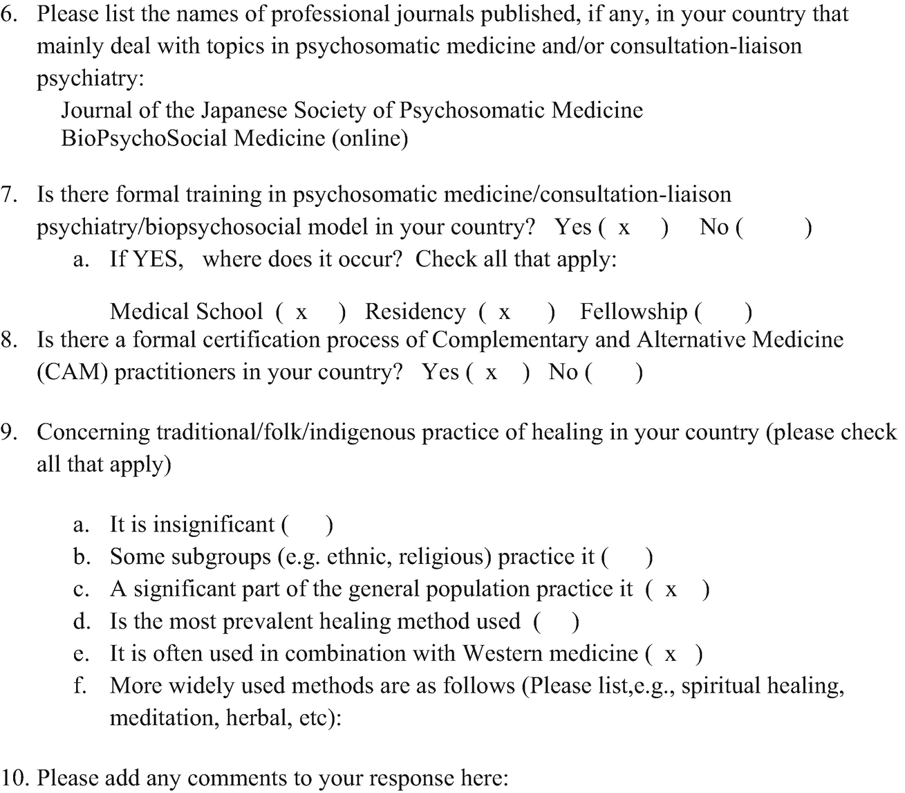Psychosomatic Medicine in Japan | SpringerLink