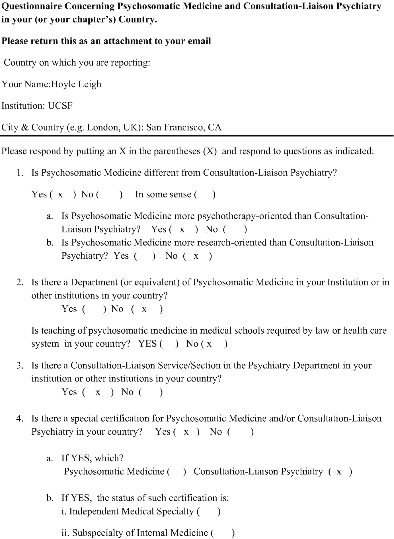 Psychosomatic Medicine and Consultation-Liaison Psychiatry in the