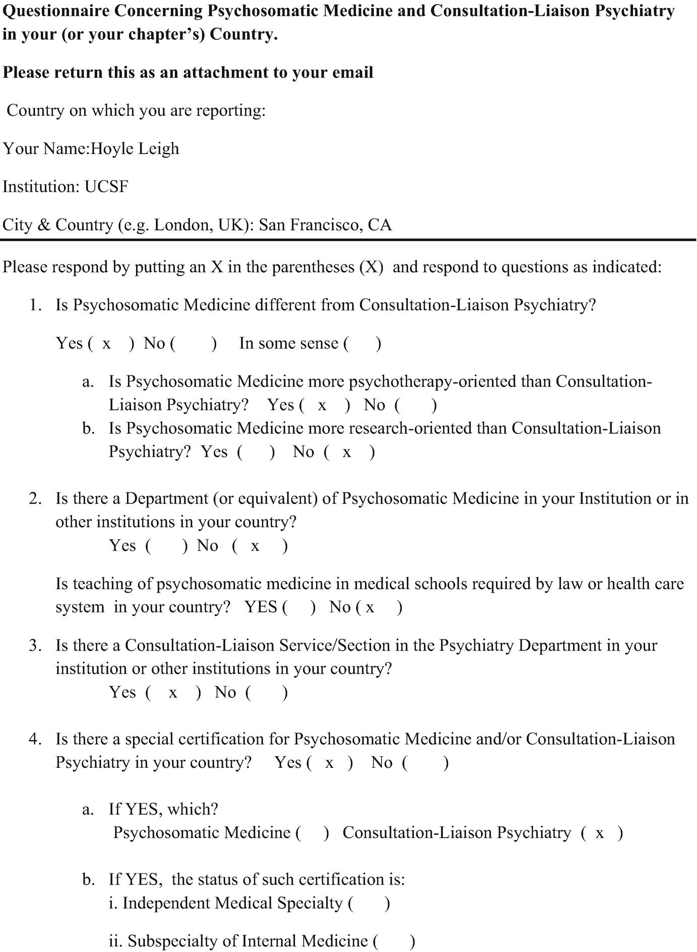 Psychosomatic Medicine and Consultation-Liaison Psychiatry