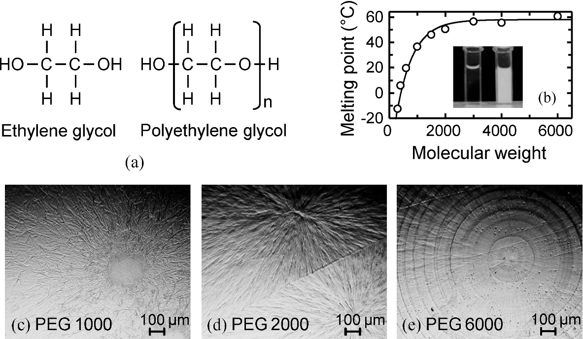 Polyethylene Glycol as a Bistable Scattering Matrix for