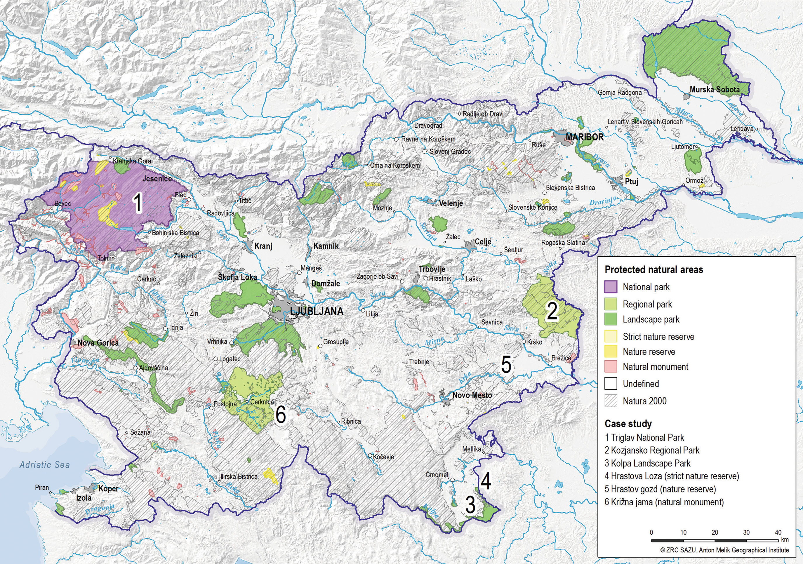 Slovenia S Protected Areas Springerlink