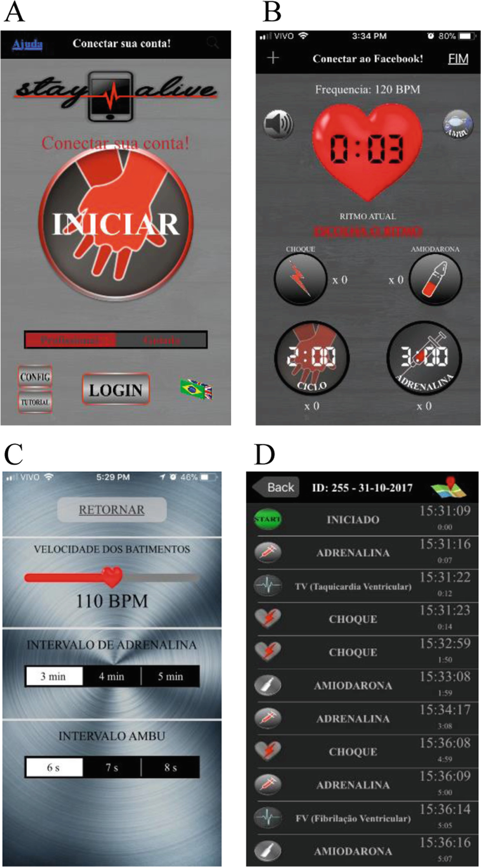 Stay Alive: A Mobile Application for the Cardiopulmonary