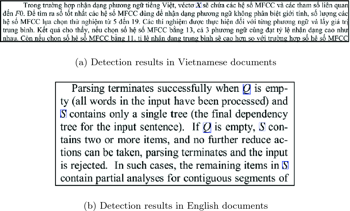 Mathematical Variable Detection in PDF Scientific Documents