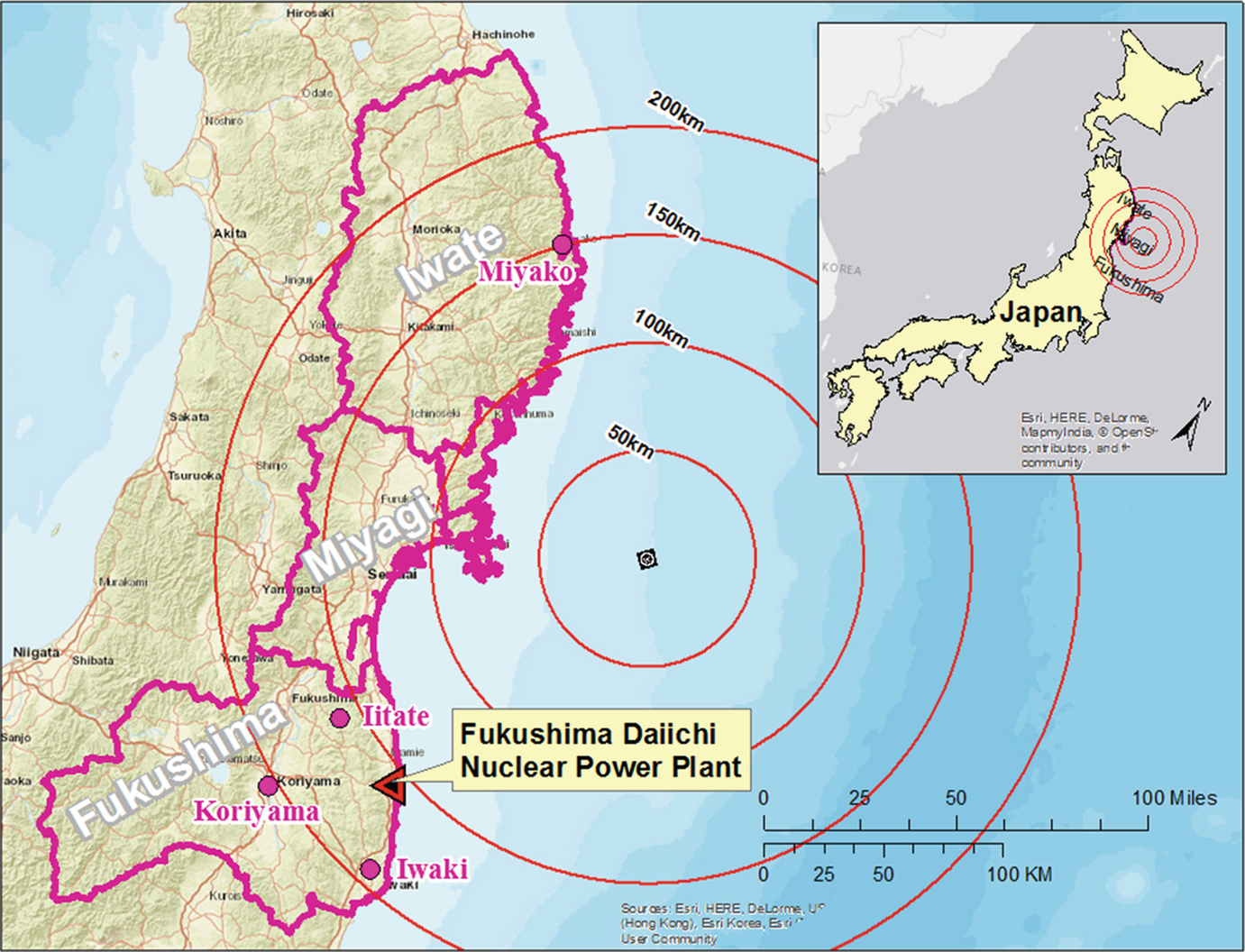 Japan's Fukushima Daiichi Nuclear Power Plant Accident