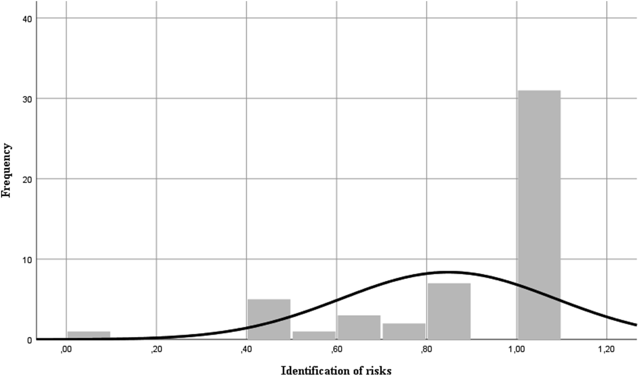 Non-financial Information and Risk Disclosure: Compliance Levels