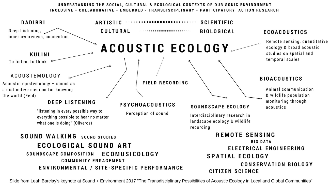 Acoustic Ecology and Ecological Sound Art: Listening to Changing
