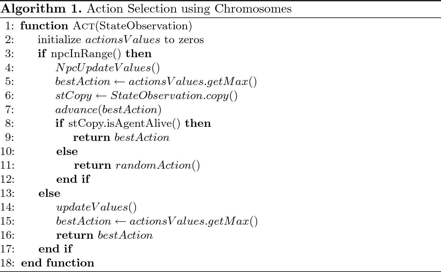 GAMER: A Genetic Algorithm with Motion Encoding Reuse for