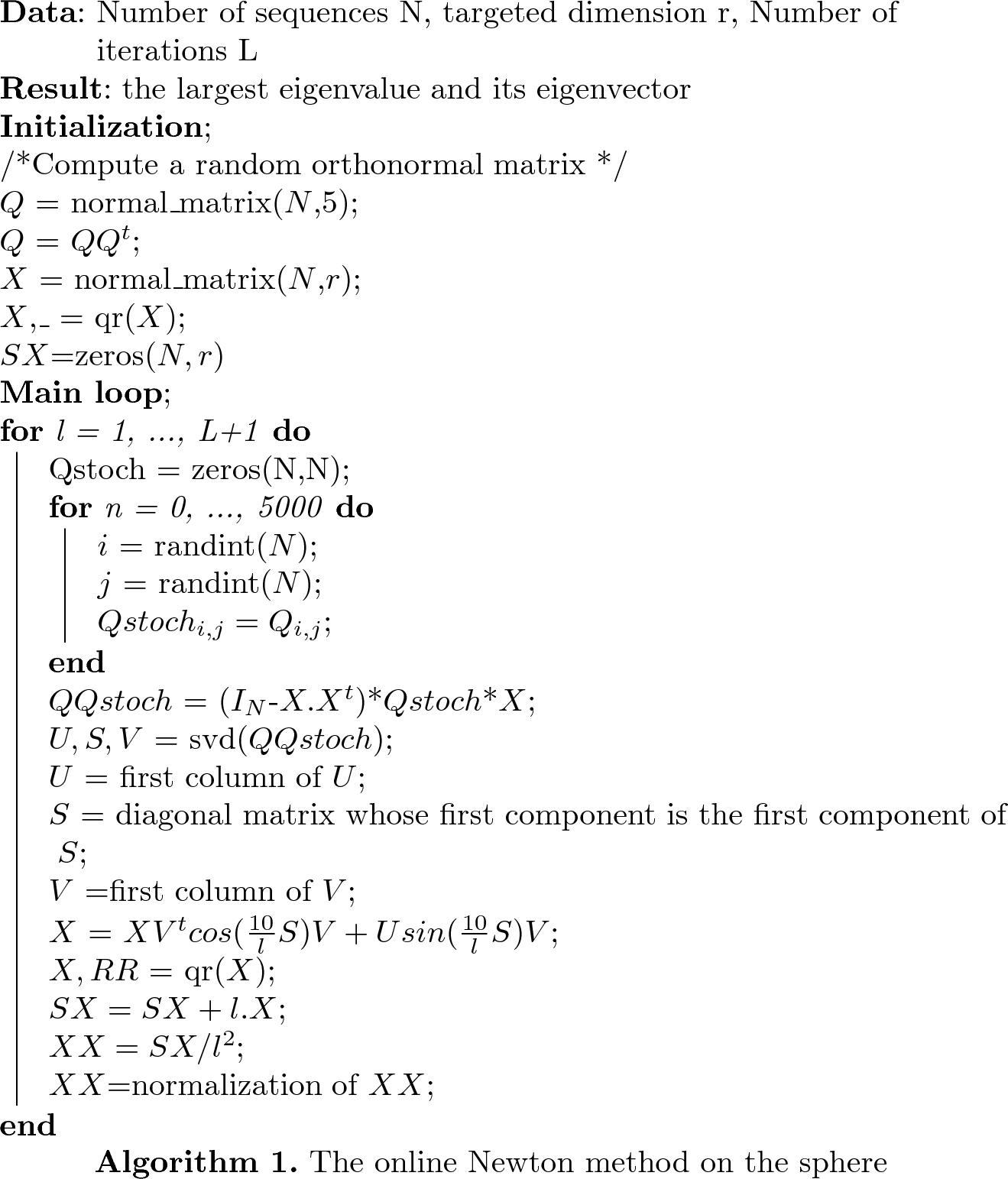 Efficient Online Laplacian Eigenmap Computation for Dimensionality