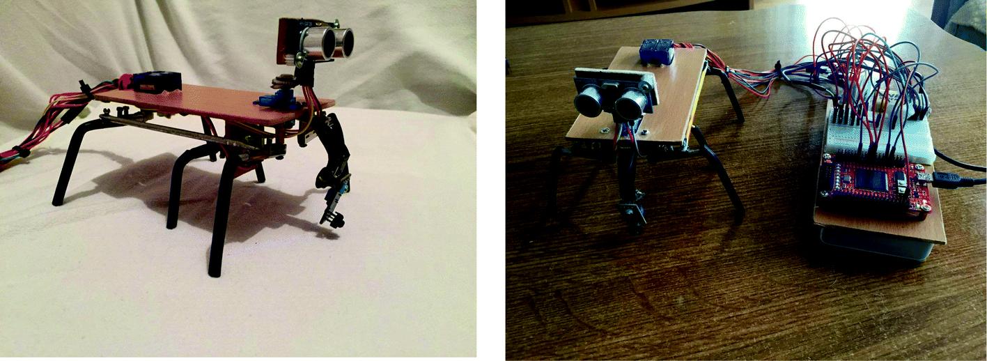 Hexapod Robot Navigation Using FPGA Based Controller