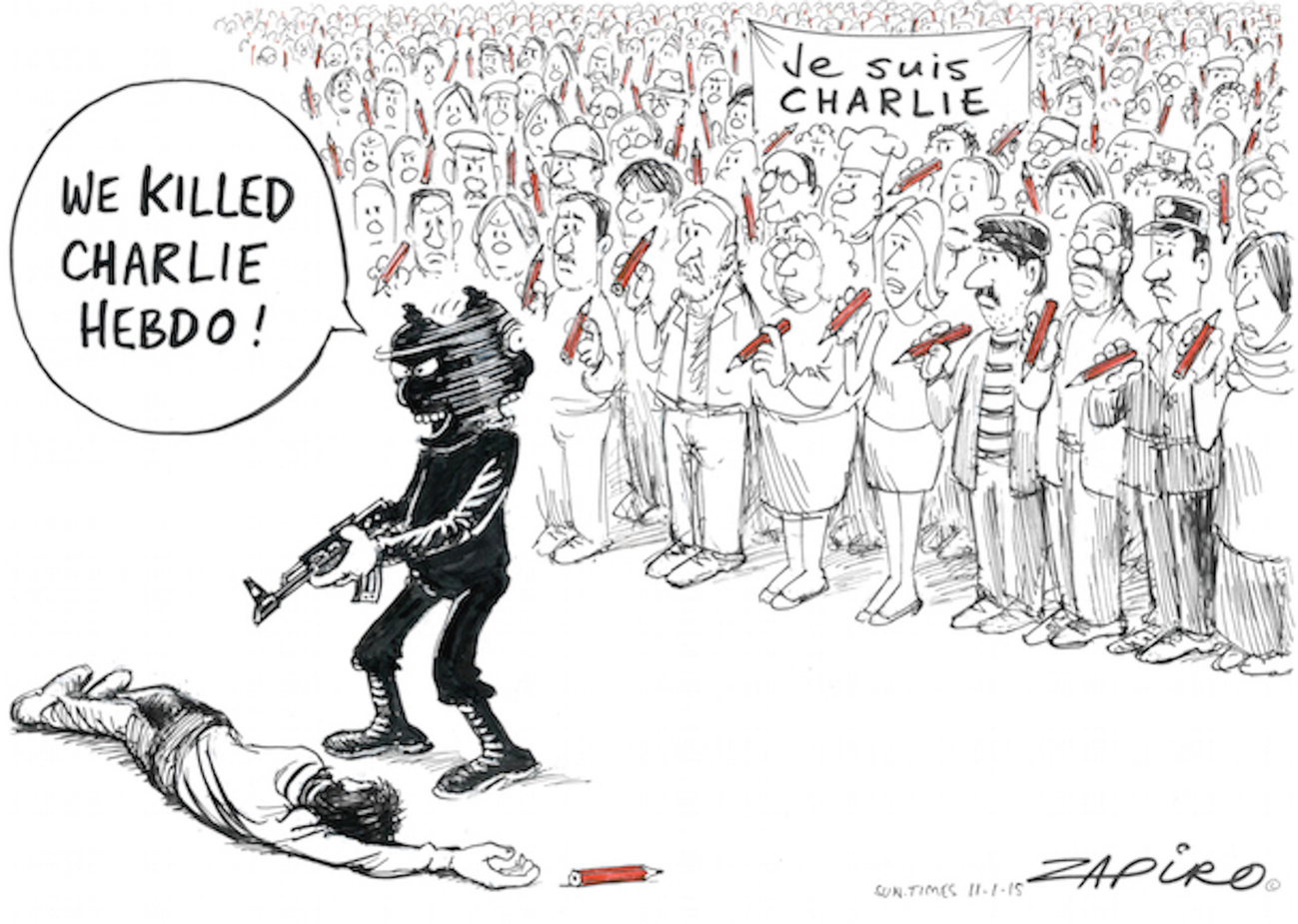 The Charlie Hebdo Affair In Three African Journalistic Fields