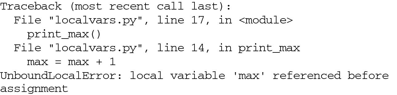 Scope and Lifetime of Variables   SpringerLink