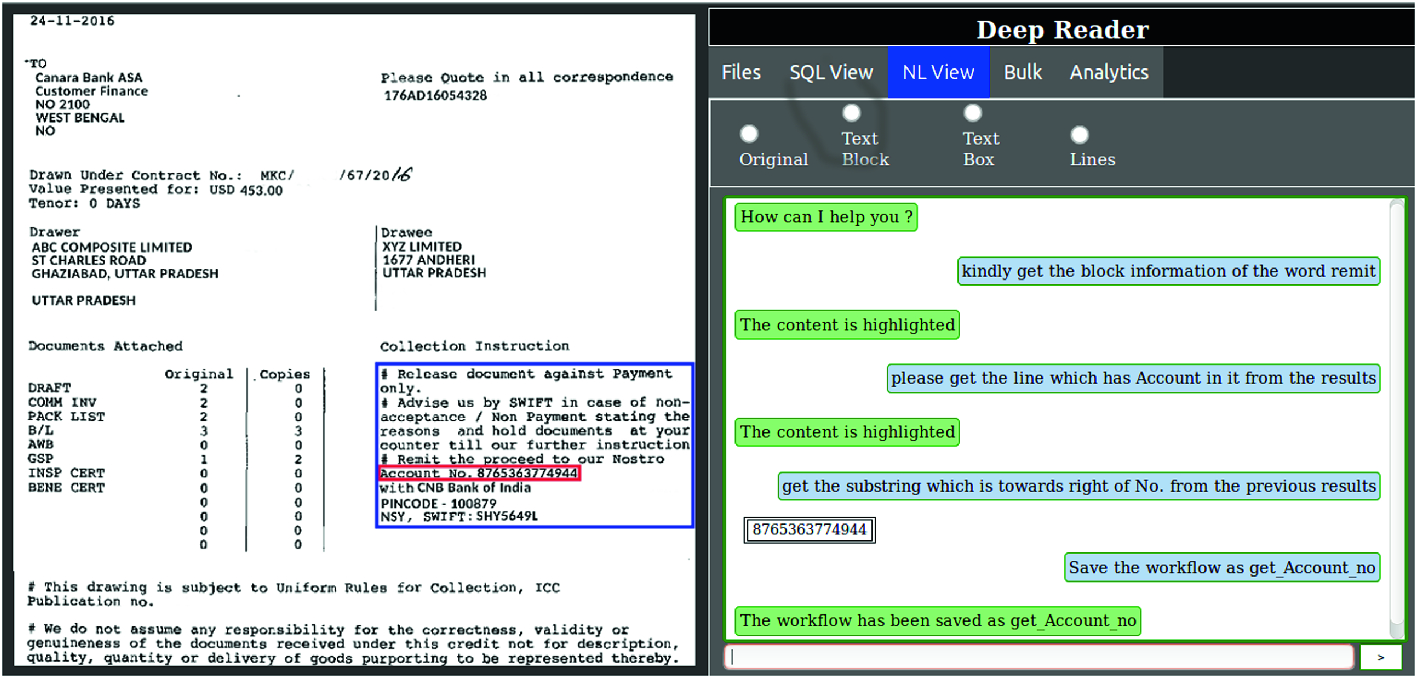 Deep Reader: Information Extraction from Document Images via