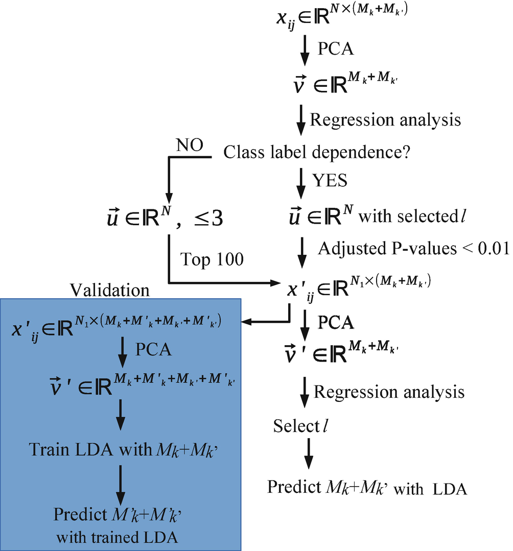 Applications of PCA Based Unsupervised FE to Bioinformatics