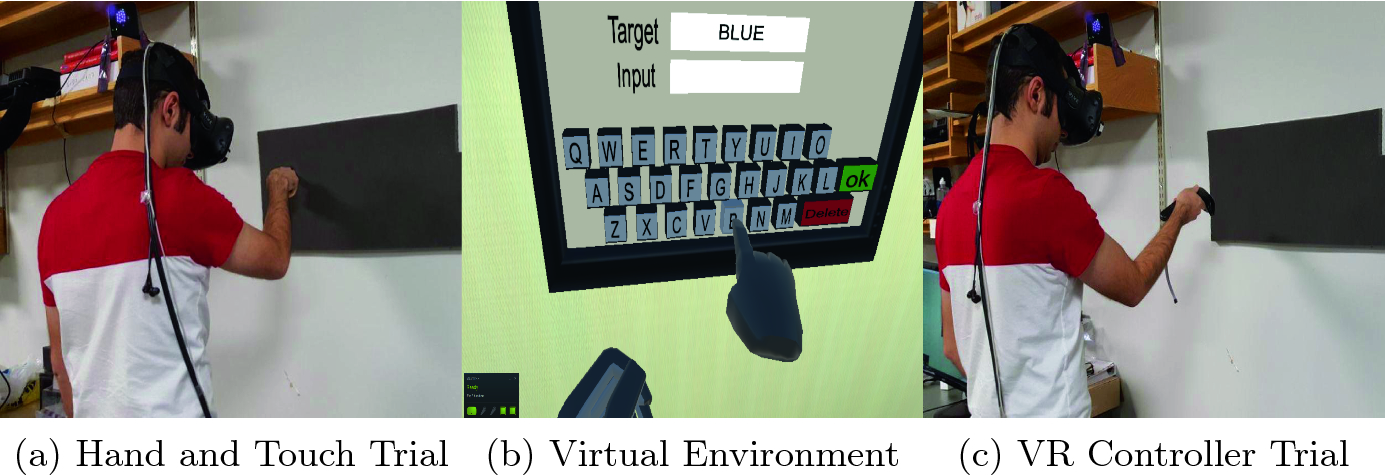 Using Proxy Haptic for a Pointing Task in the Virtual World